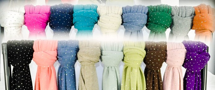 SALE WAS £35 NOW £25 SPARKLE 5 in 1 MULTISCARF