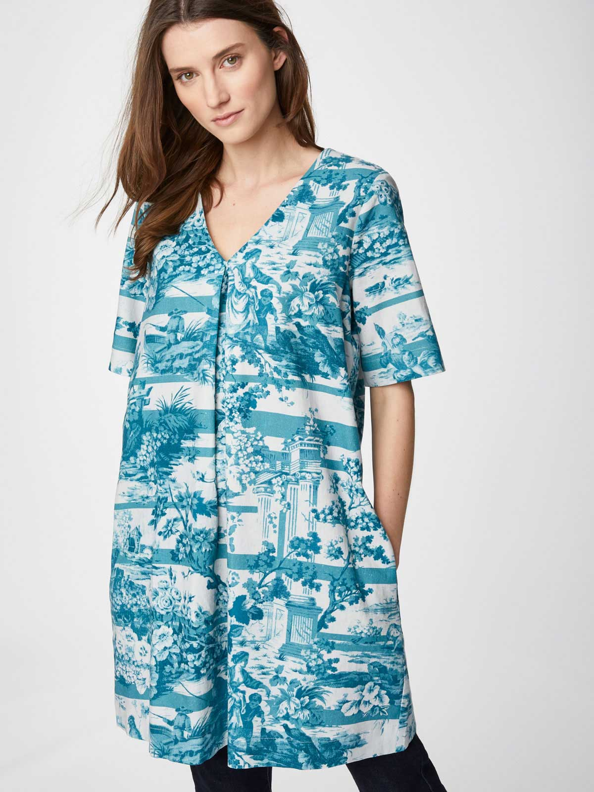 Thought SALE Toile De Jouy Tunic Dress WAS £55 NOW £30