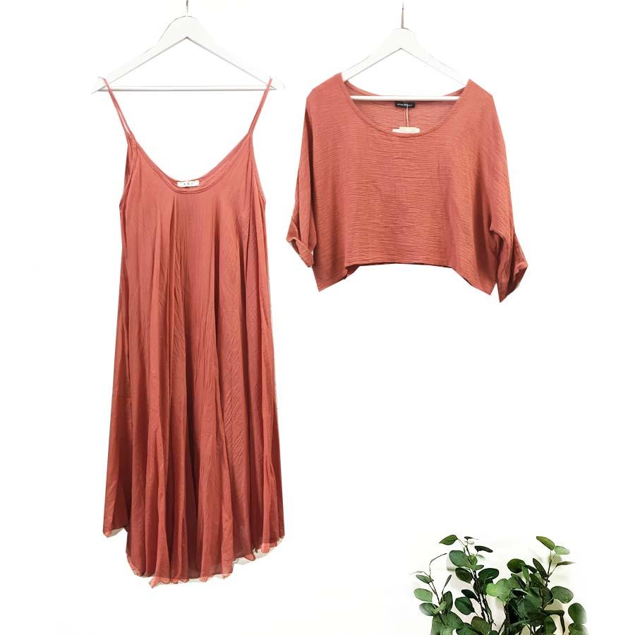 2 Piece Cotton Dresses