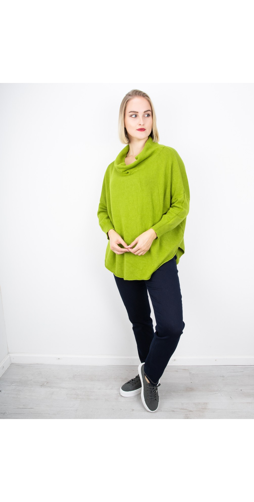 Pear - Vera Funnel Neck Sweater