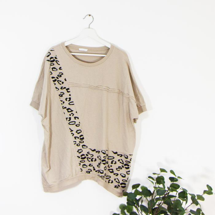 SALE WAS £38 NOW £18 Cotton Oversized Top - Sarah Tempest Designs