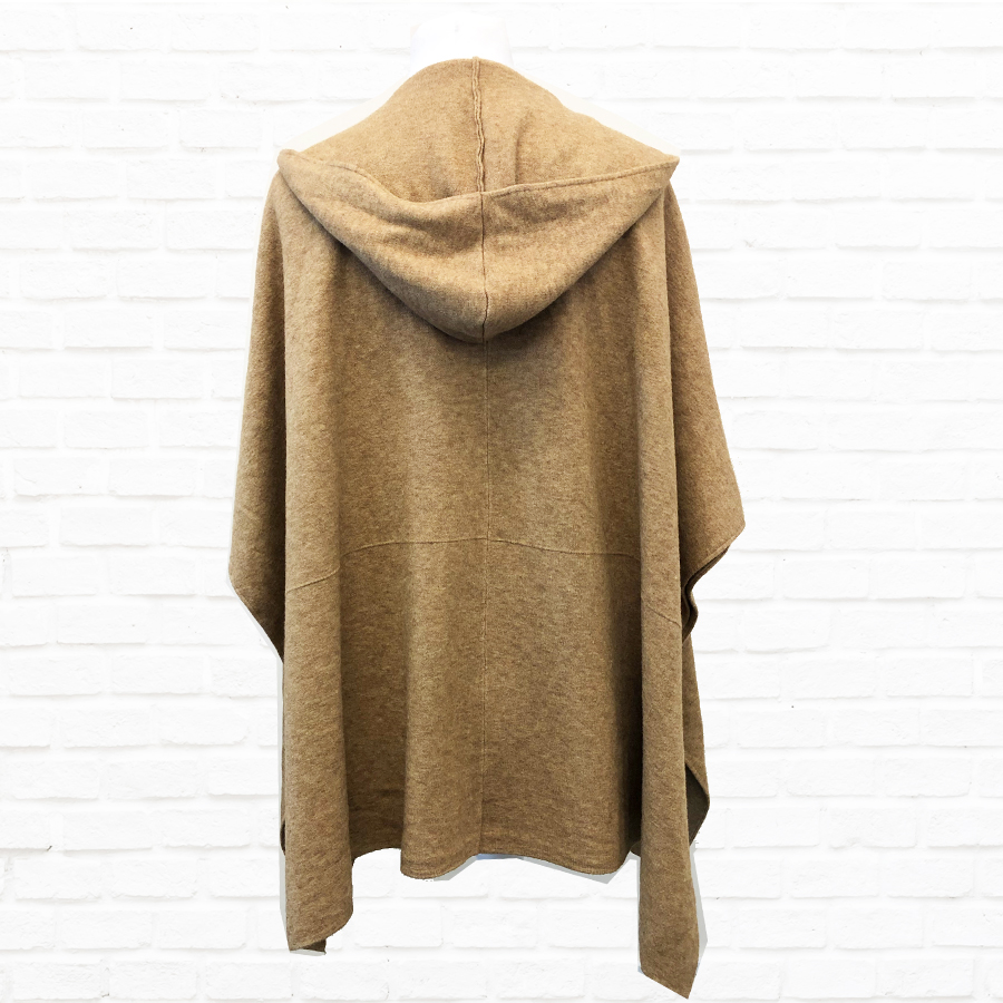 Open Poncho In A Choice Of Colours