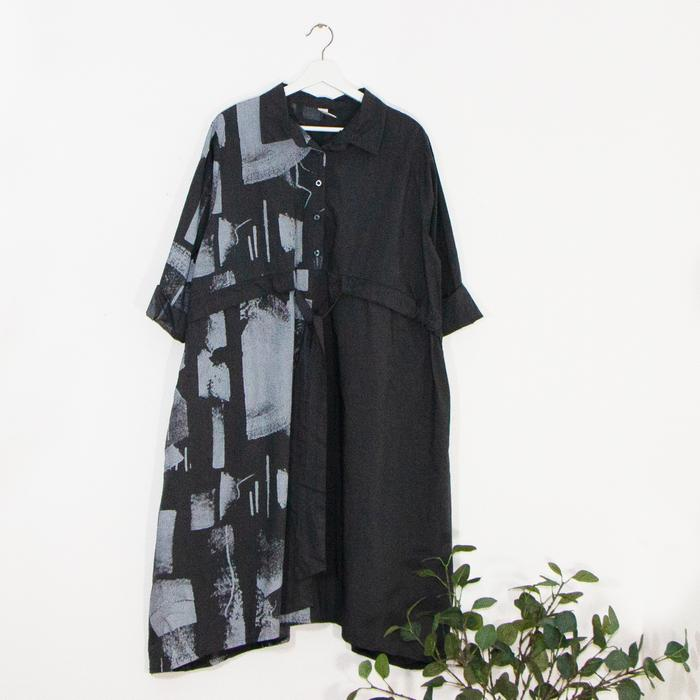 SALE WAS £55 NOW £30 Shirt dress  -  Sarah Tempest Designs