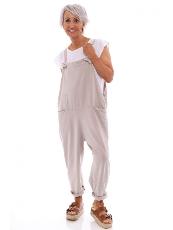 Dungaree Set Complete With White Tee
