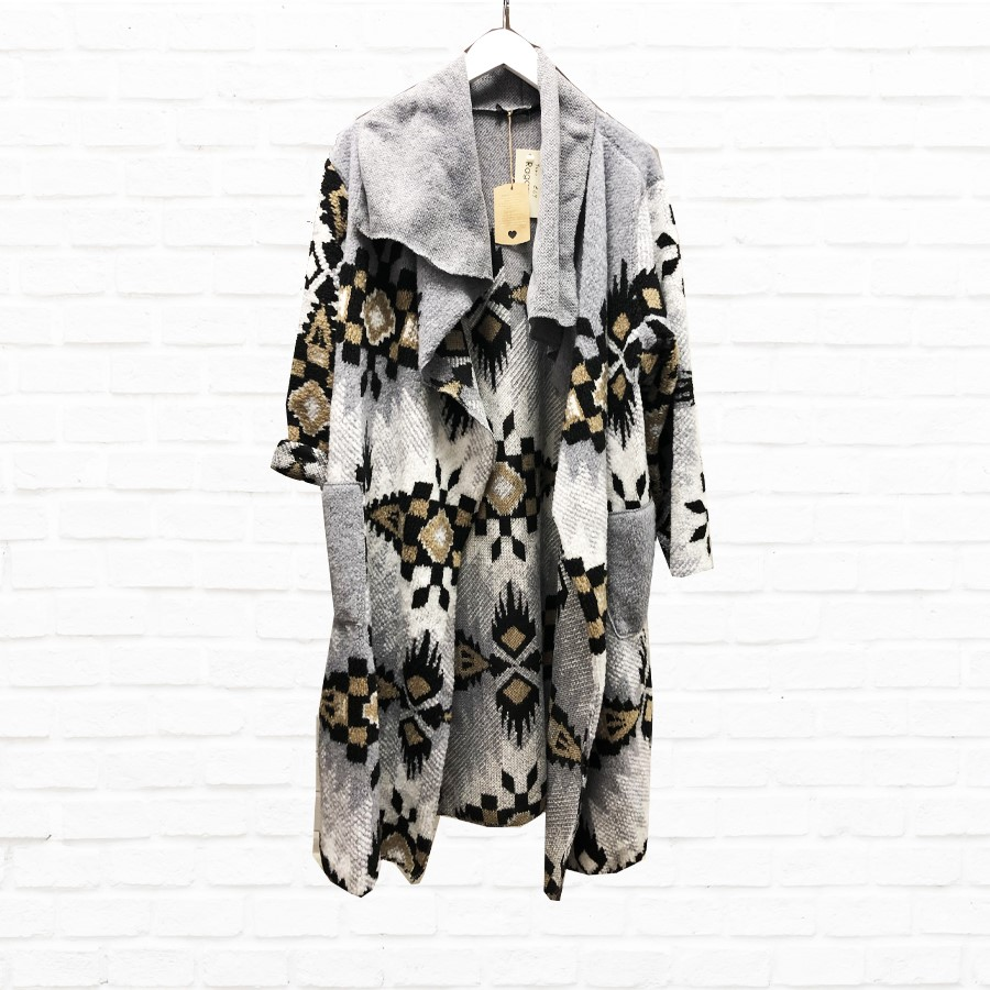 Aztec Coat In A Choice Of Colours