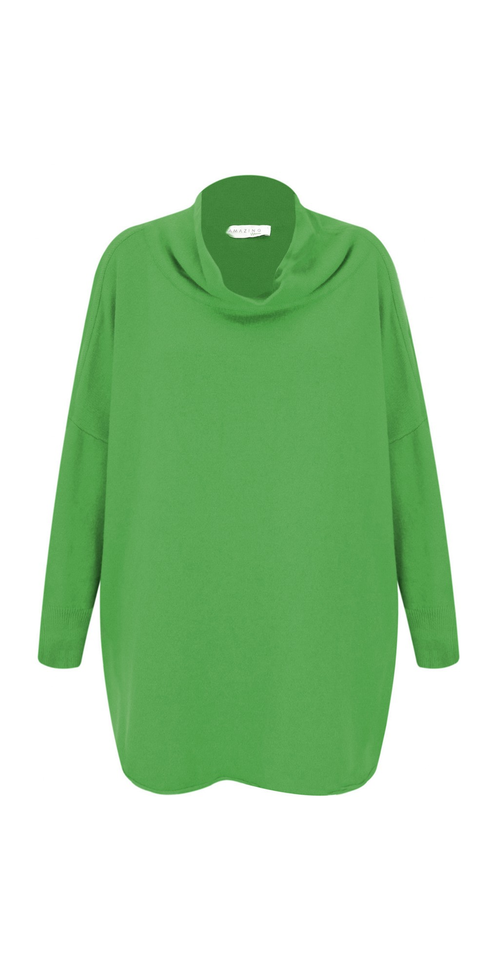 Emerald - Vera Funnel Neck Sweater