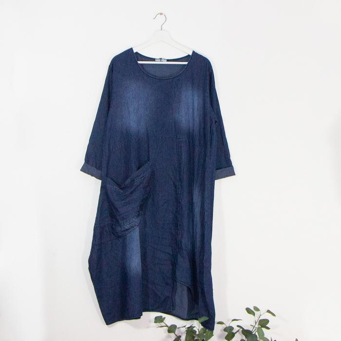 SALE WAS £49 NOW £35 Denim Dress - Sarah Tempest Designs