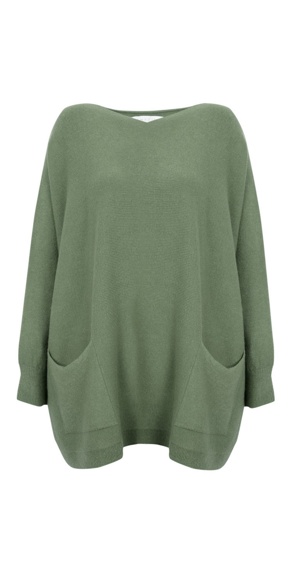 Carys Sweater Olive Green - Amazing Woman