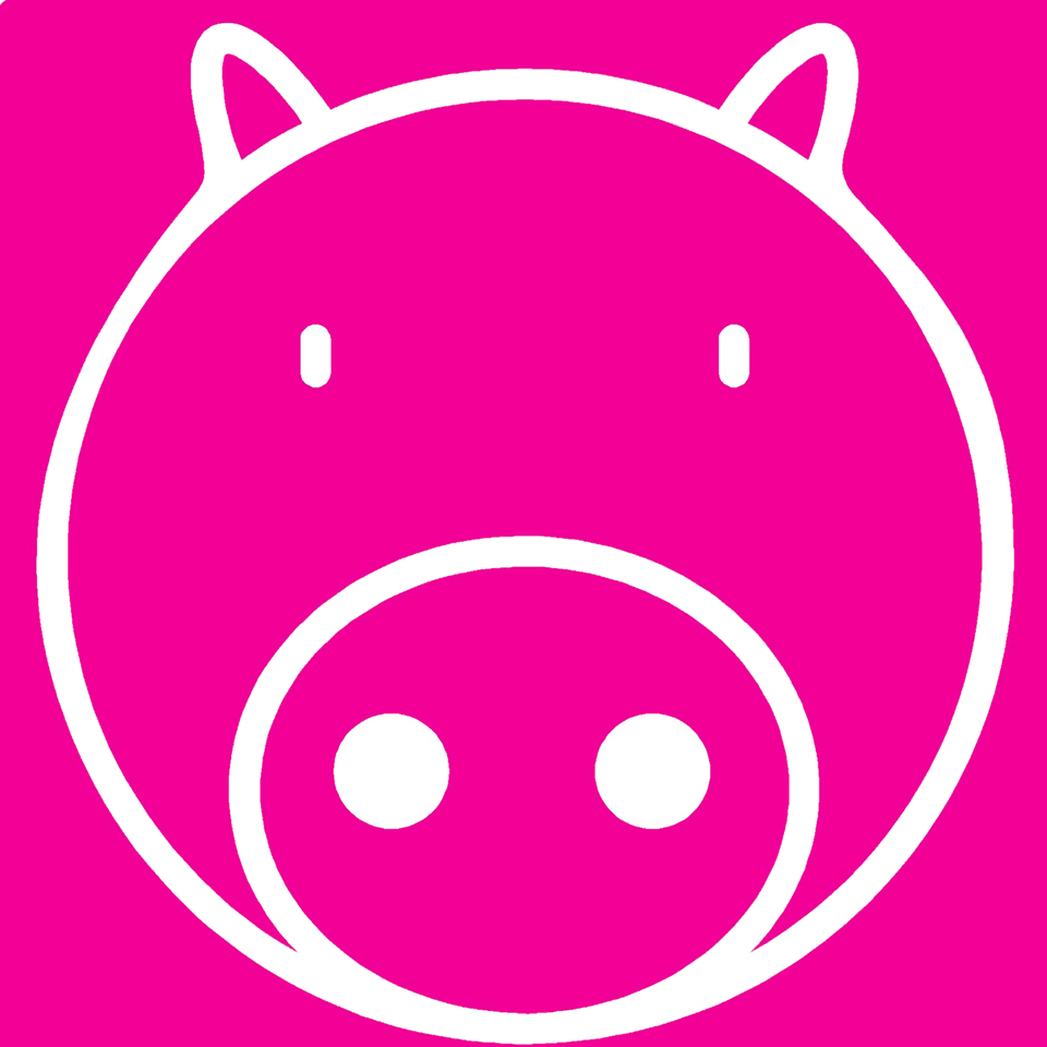 Pink Pig Print (D.A.M Uk Solutions)