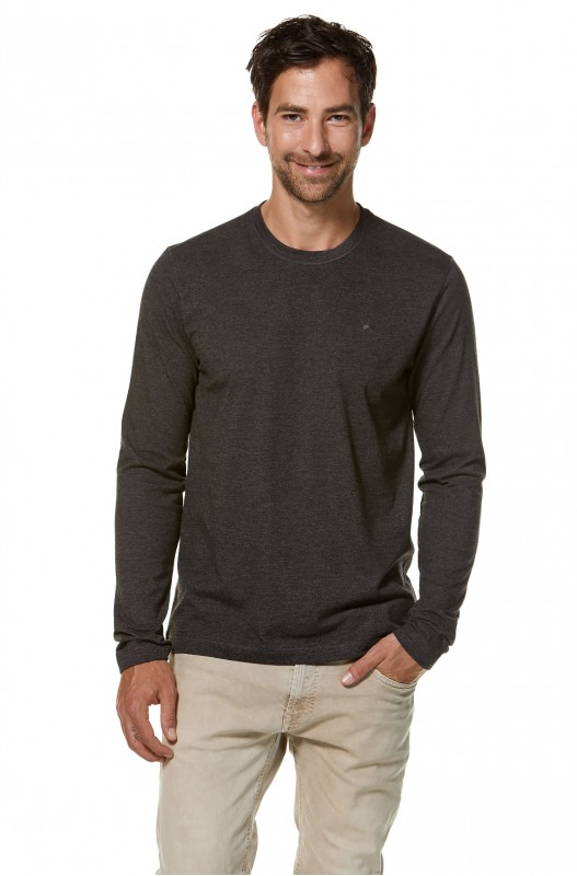 Mateo Royal-Longsleeve Shirt - Anthrazite