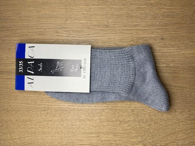 Fyrfår Alpaca sokker - str 33-35