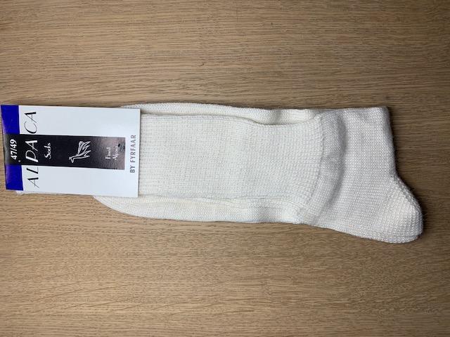 Fyrfår Alpaca sokker - str 47-49