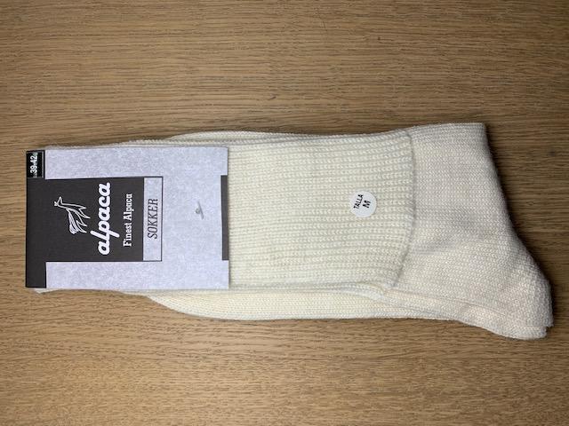 Fyrfår Alpaca sokker - str 39-42