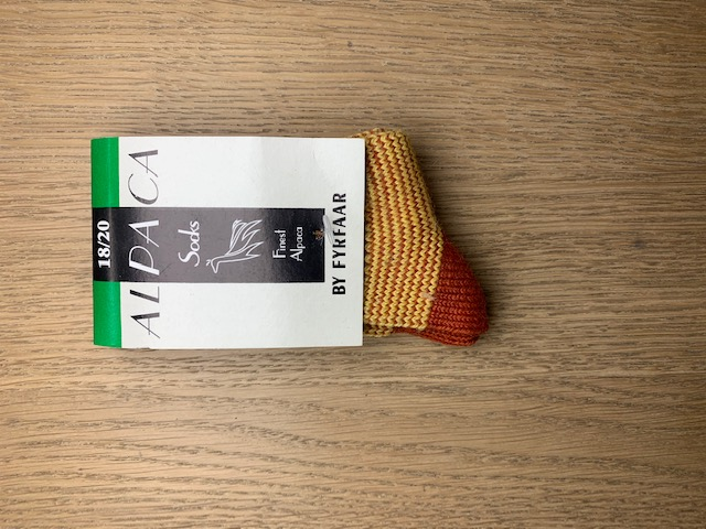 Fyrfår Alpaca sokker - str 29-32