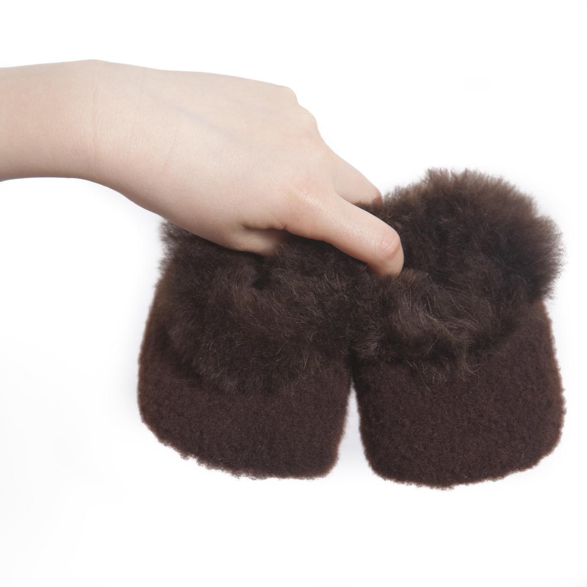 Baby Alpaca Fur & Merino Booties