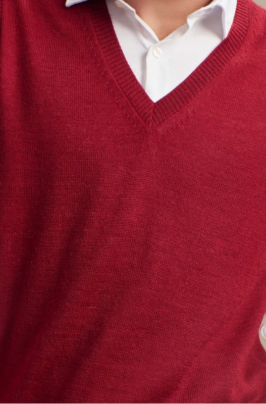 Herre - Alpaca - ABEL - Rød