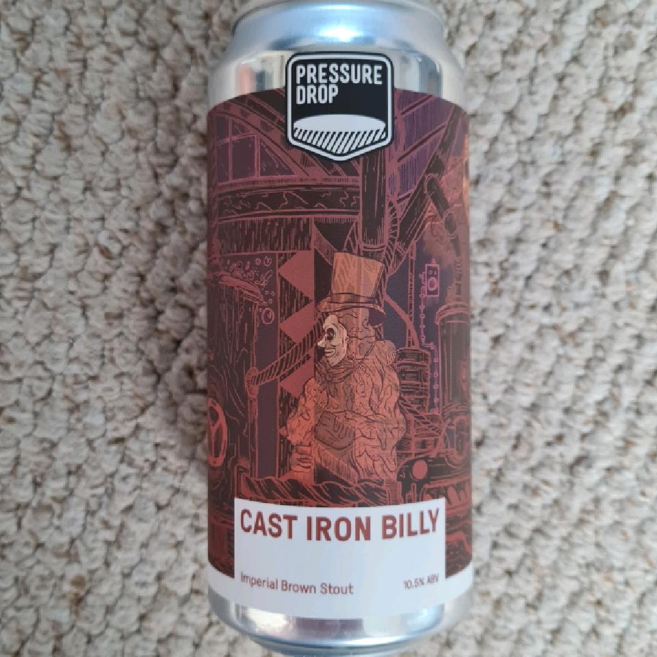 Pressure Drop Cast Iron Billy