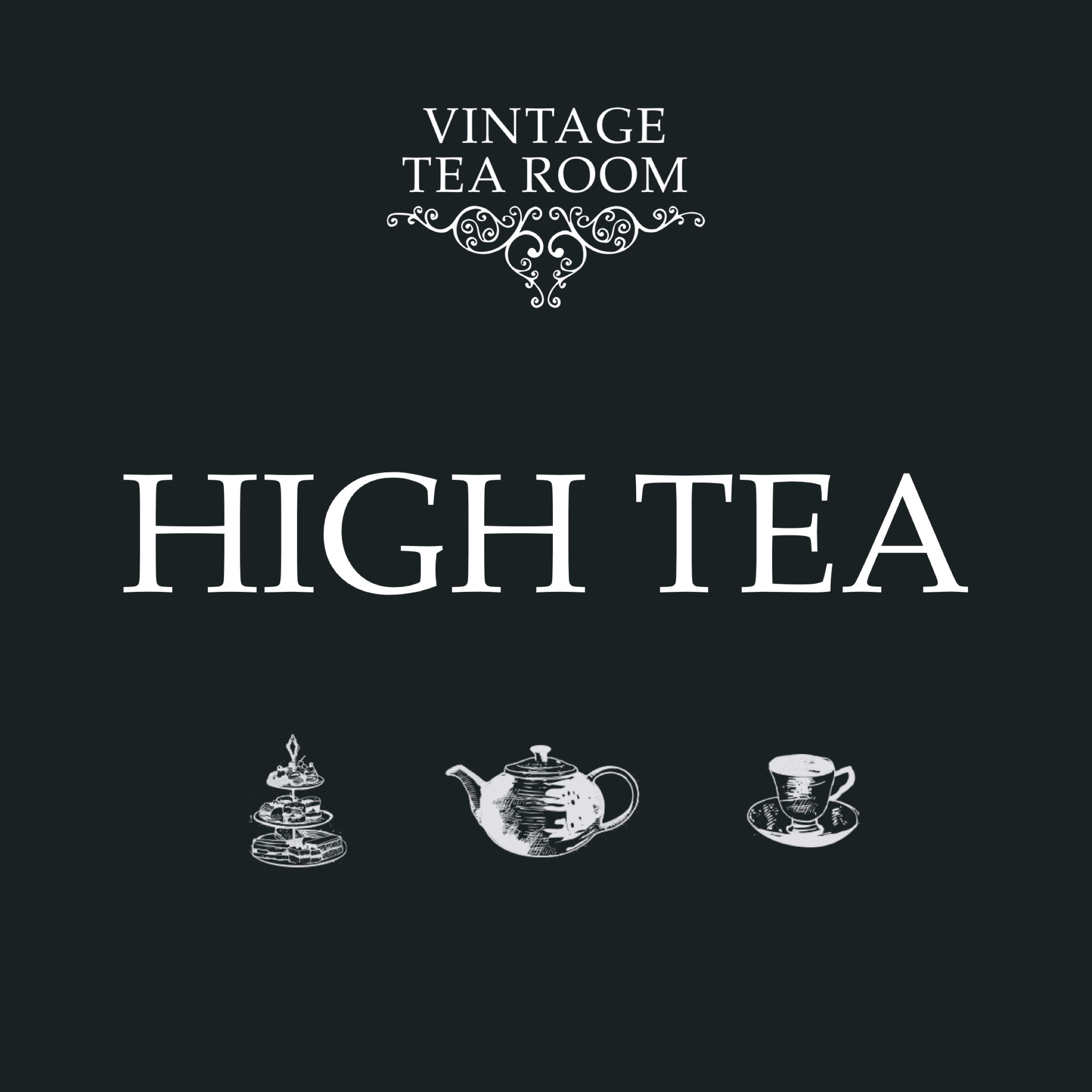 Vintage High Tea For Two - Voucher