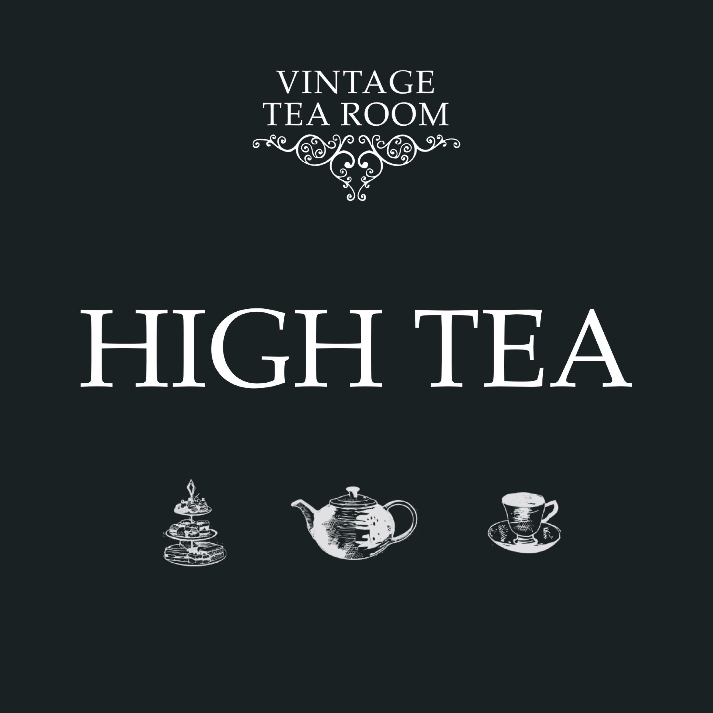 Vintage High Tea For One - Voucher