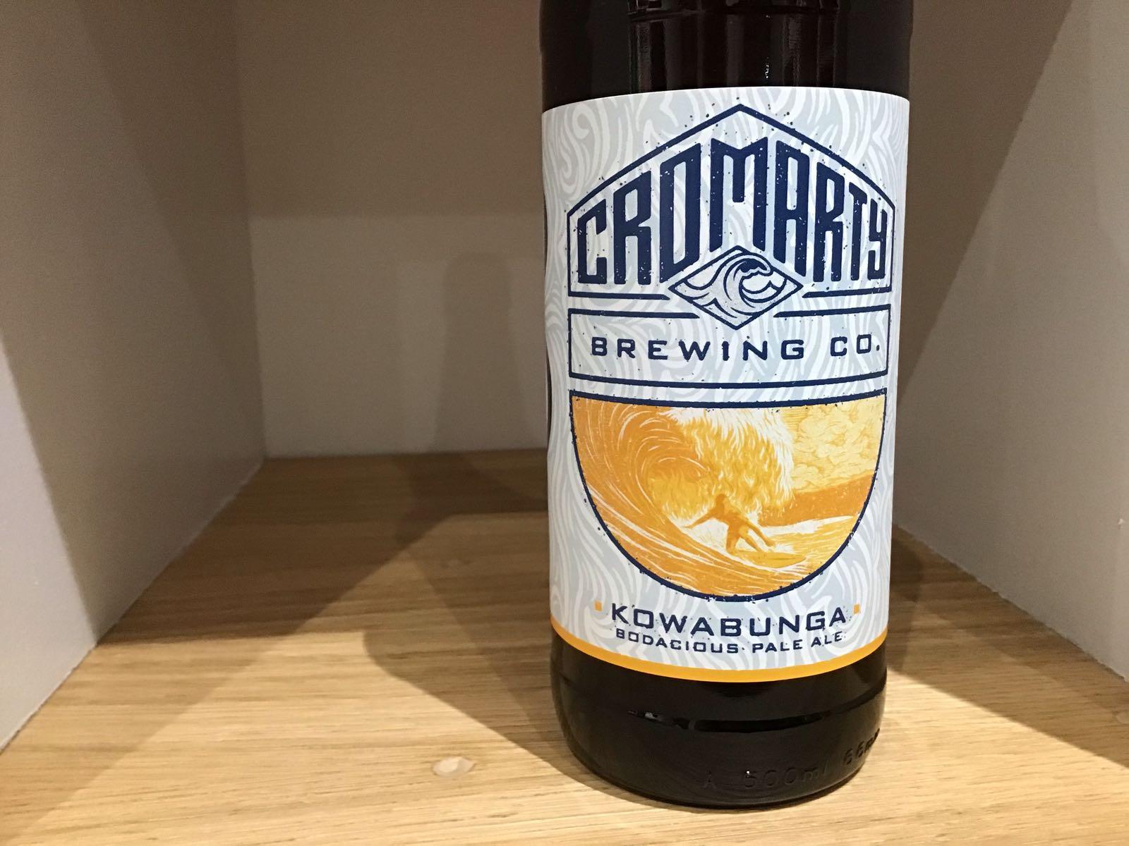 Cromarty Brewing Co: Kowabunga