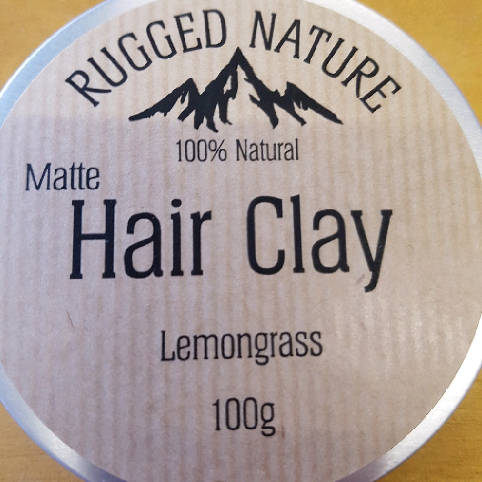 Hair Clay - Lemongrass - 90g