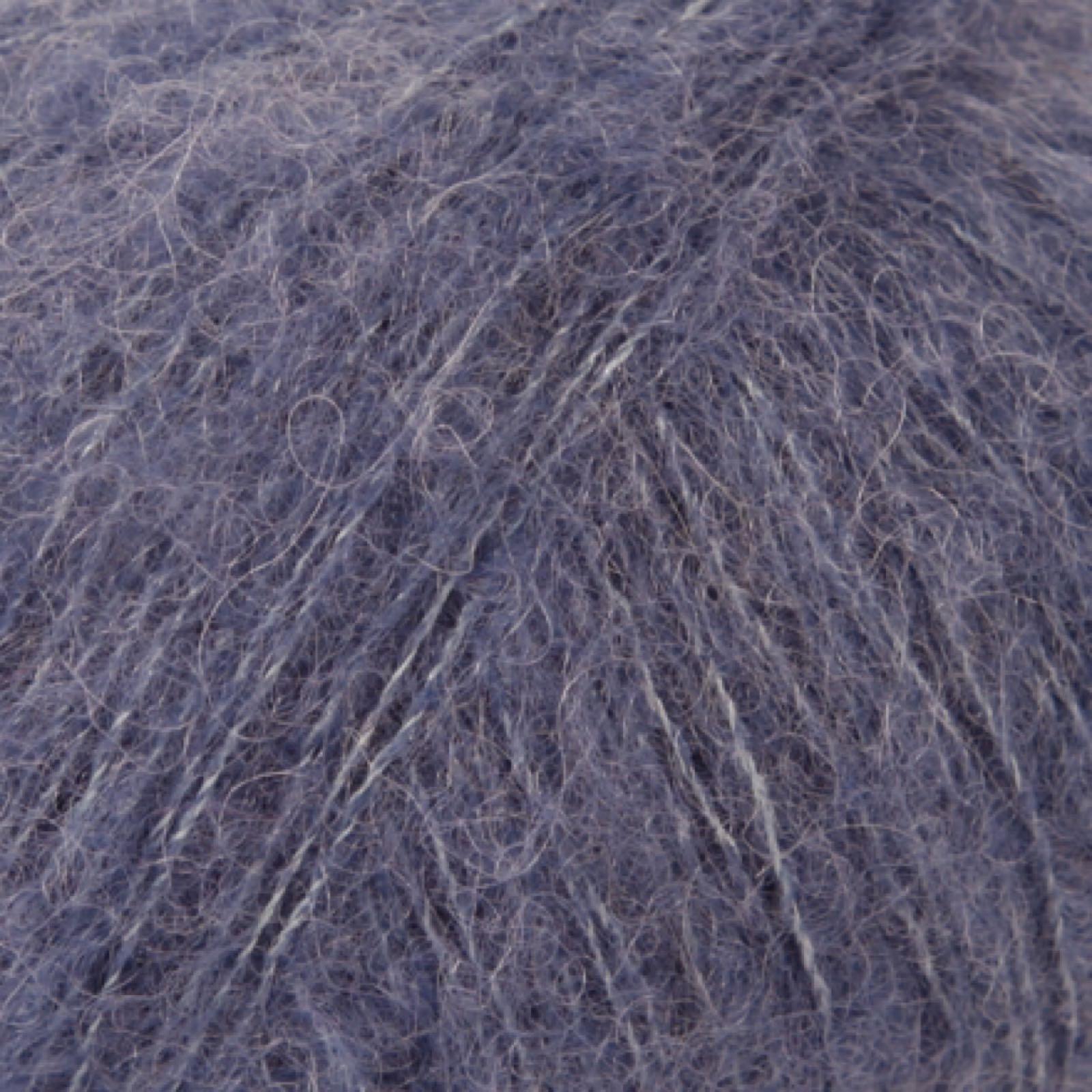 DROPS Brushed Alpaca Silk, uni colour 13 jeansblå
