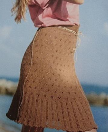 Månadens tips Stickad kjol