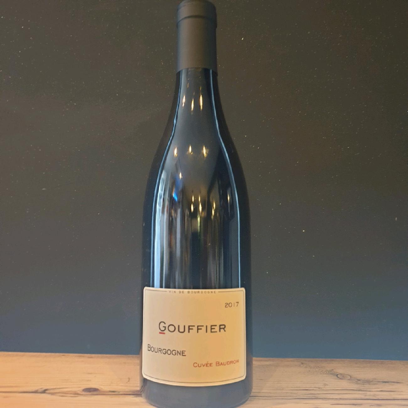 Gouffier Cuvee Baudron, Bourgogne Rouge