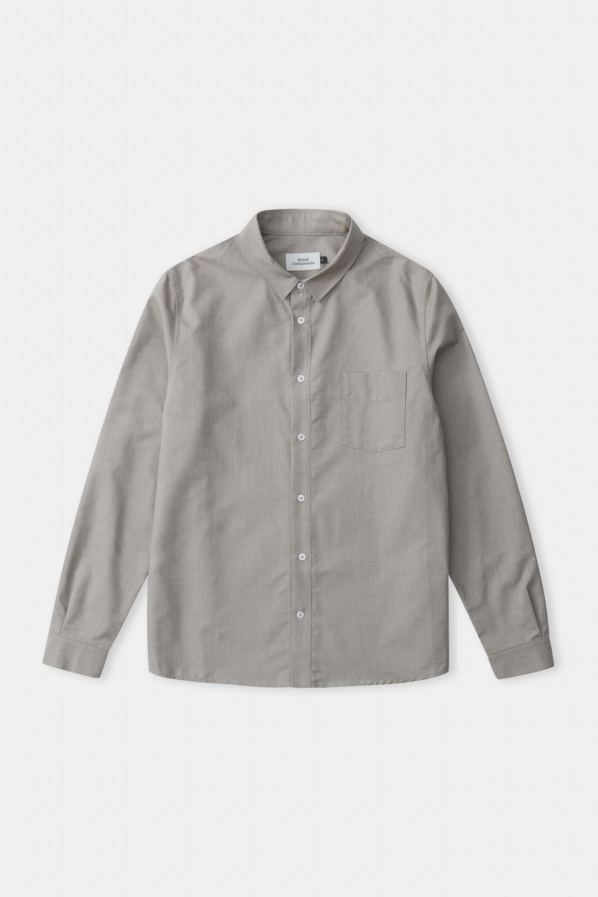simon shirt, dusty olive, herren - aco