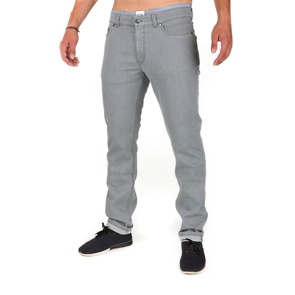 active jeans, grau, herren - bleed