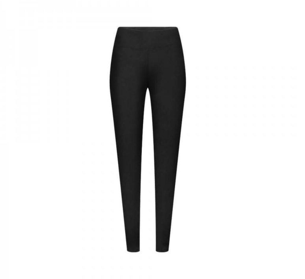 functional leggins, schwarz, damen - bleed