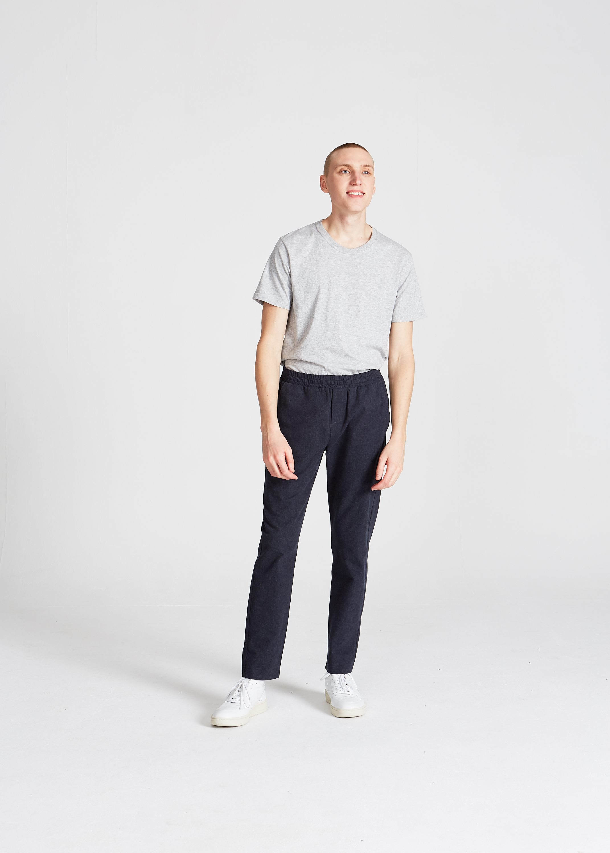 eric trousers, midnight blue, herren - givn