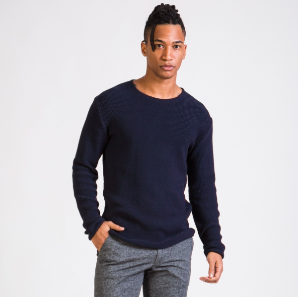 cole sweater, blue, herren - givn