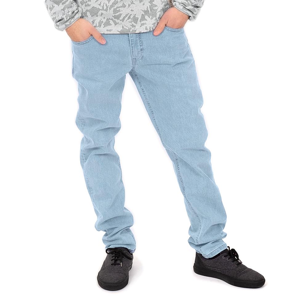 active jeans lyocell, hellblau, herren - bleed