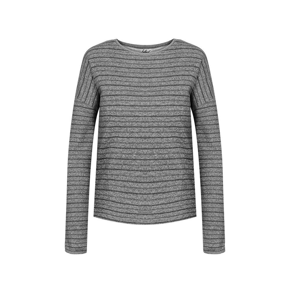 striped sweater hanf, damen - bleed