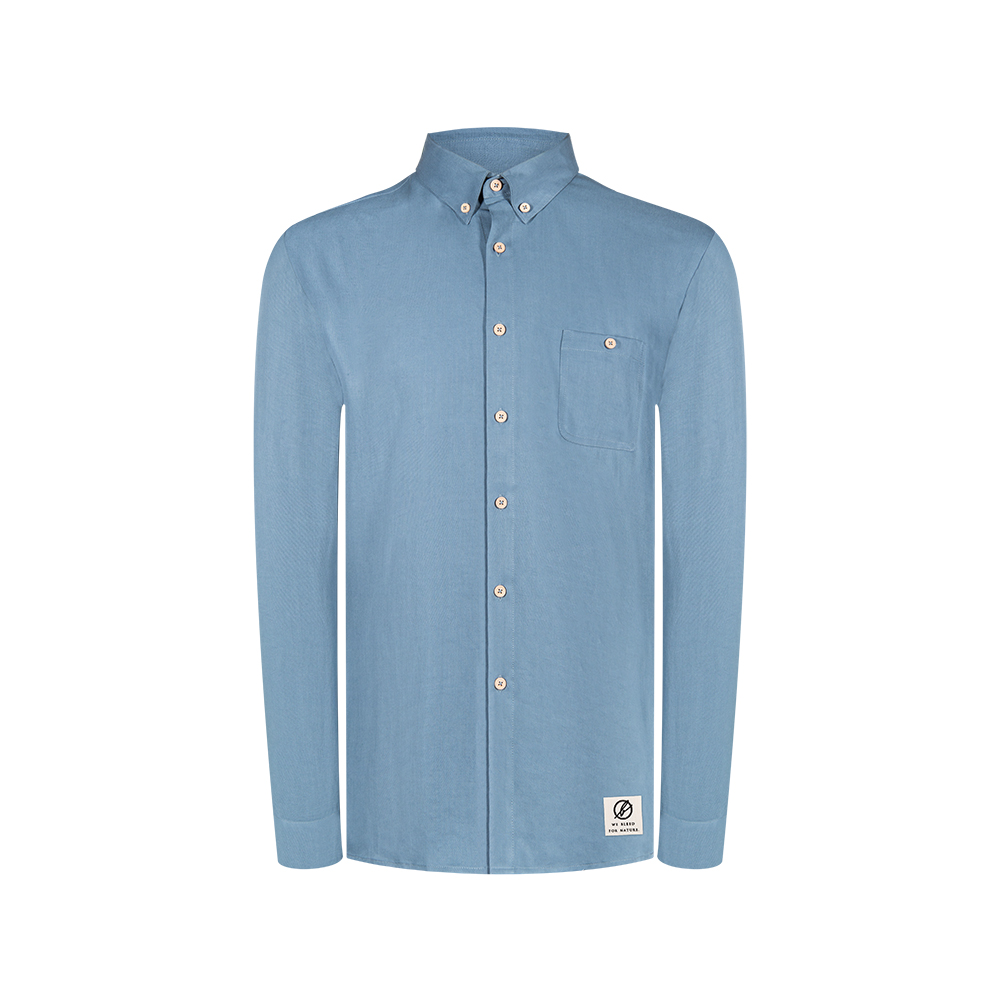 light-breeze hemd blau, herren - bleed