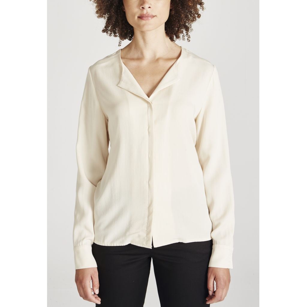 zoe bluse, off-white, damen - givn