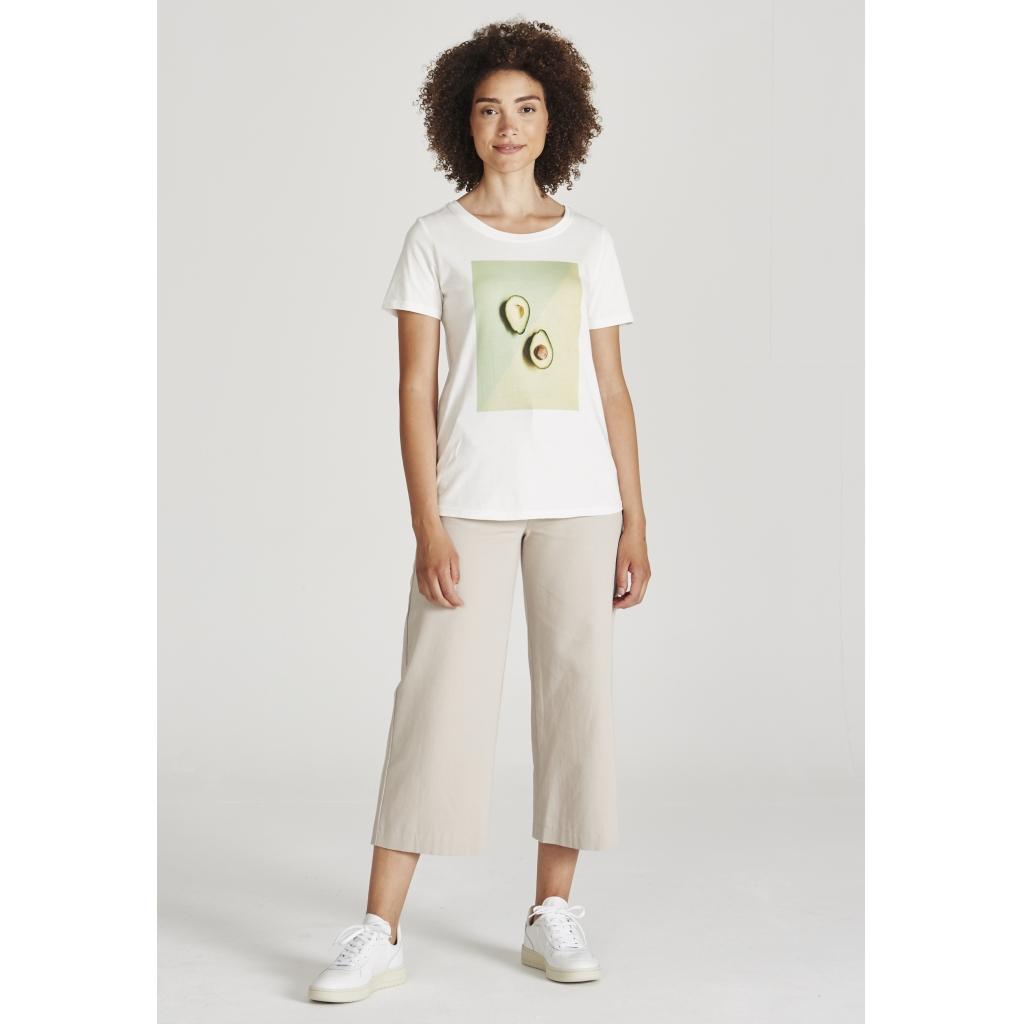 lena t-shirt, avocado, damen - givn
