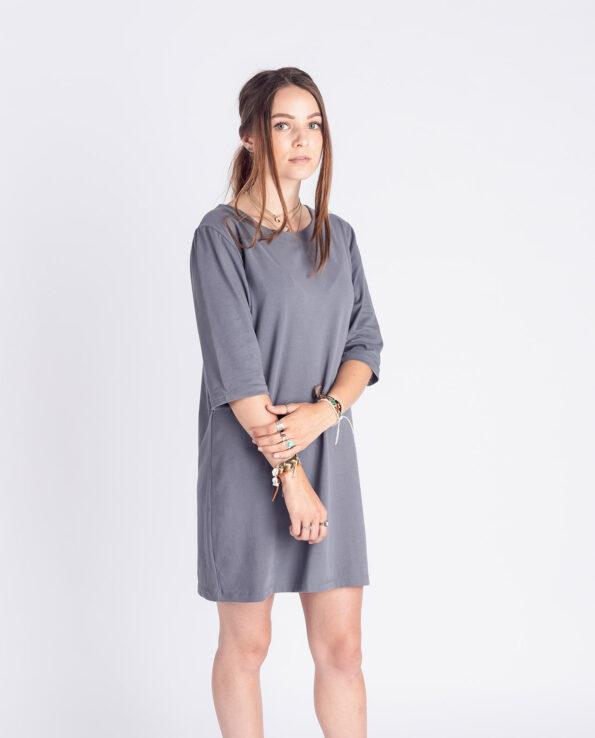 3/4 arm kleid, sun blue, damen - degree