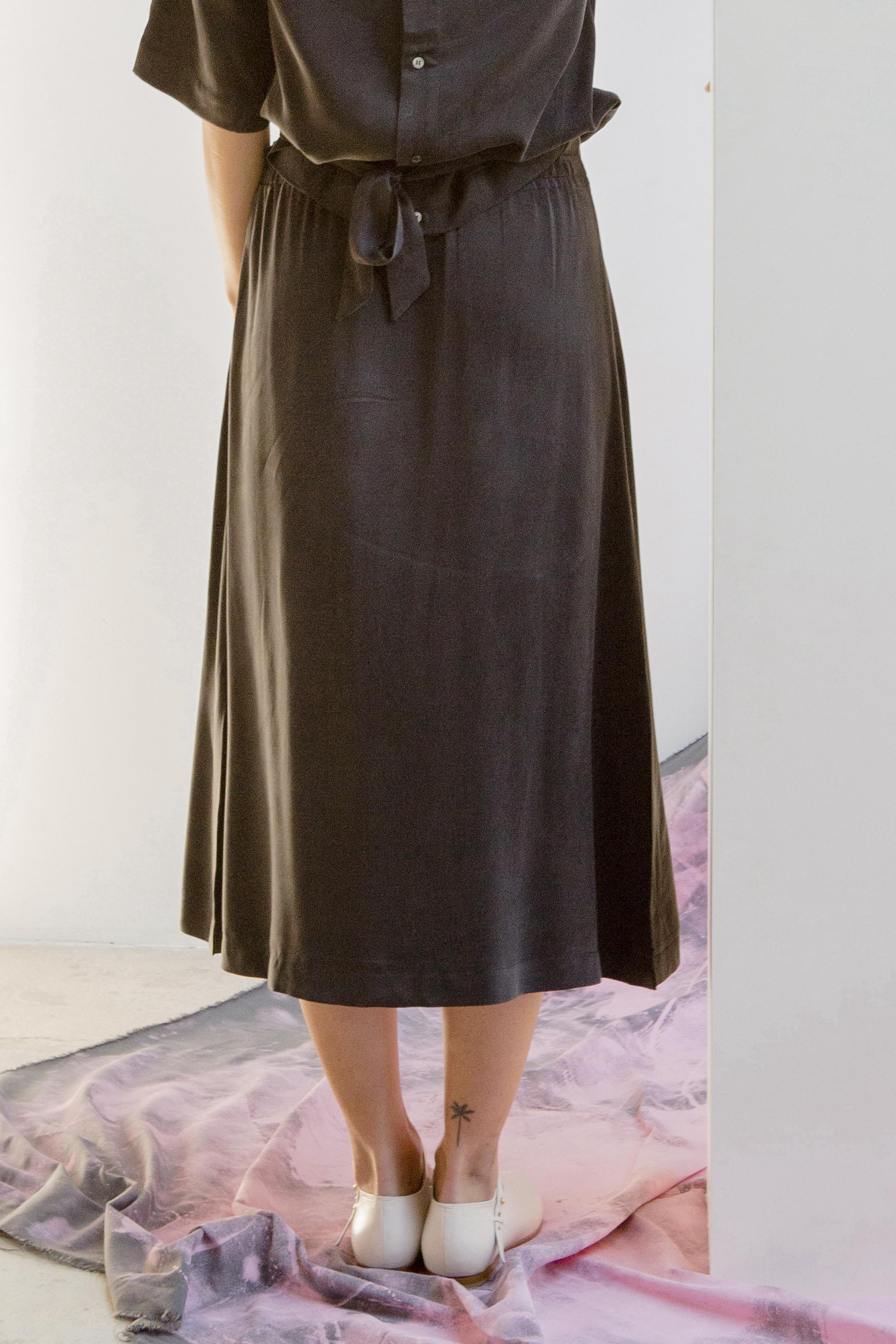 katy skirt, black, damen - suite 13