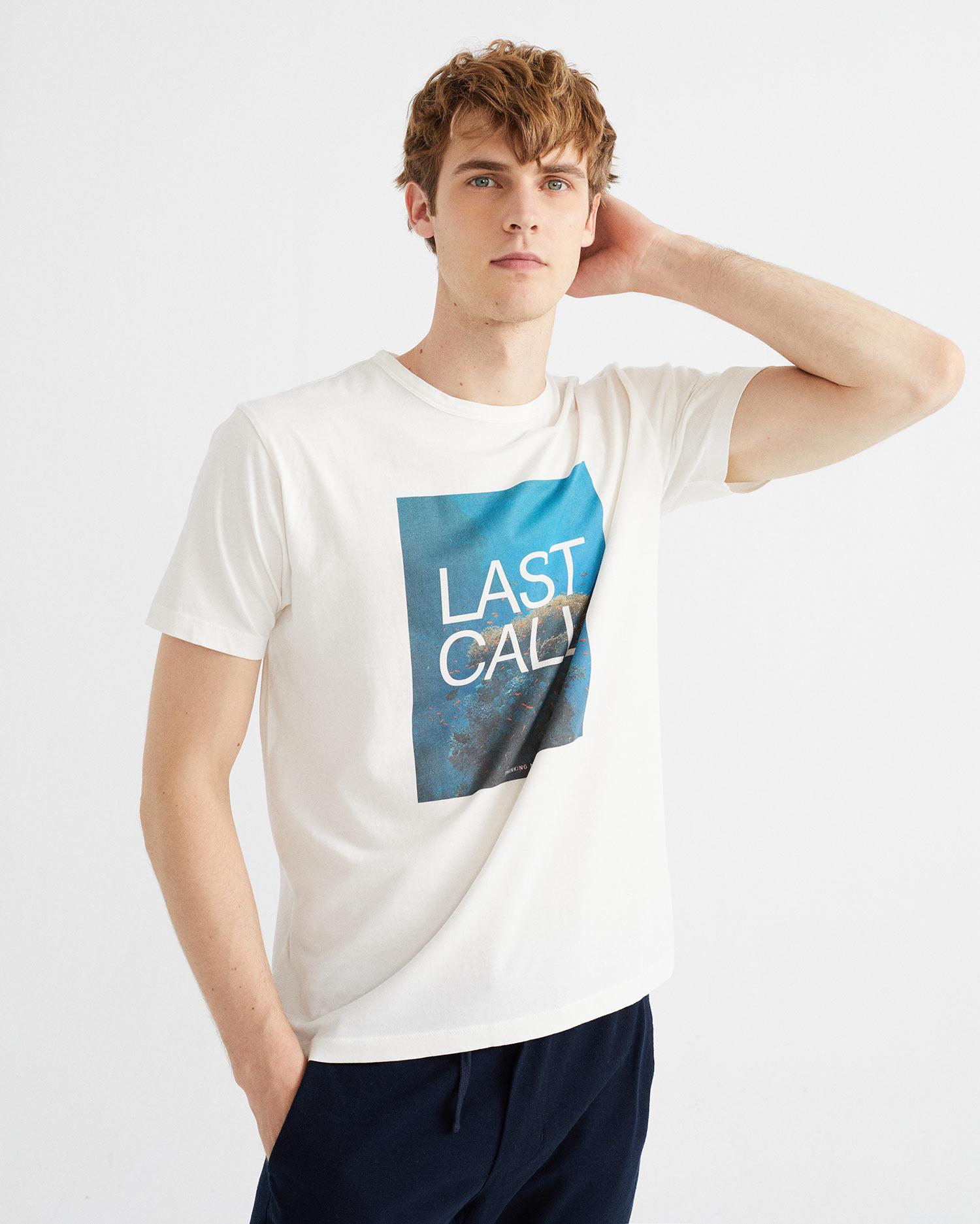 last call t-shirt, herren - thinking mu