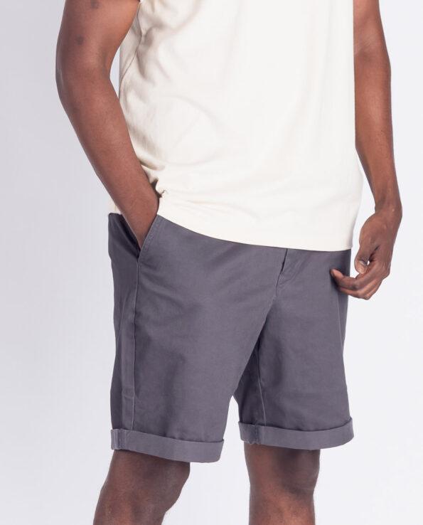 woven shorts, dark grey, herren - degree