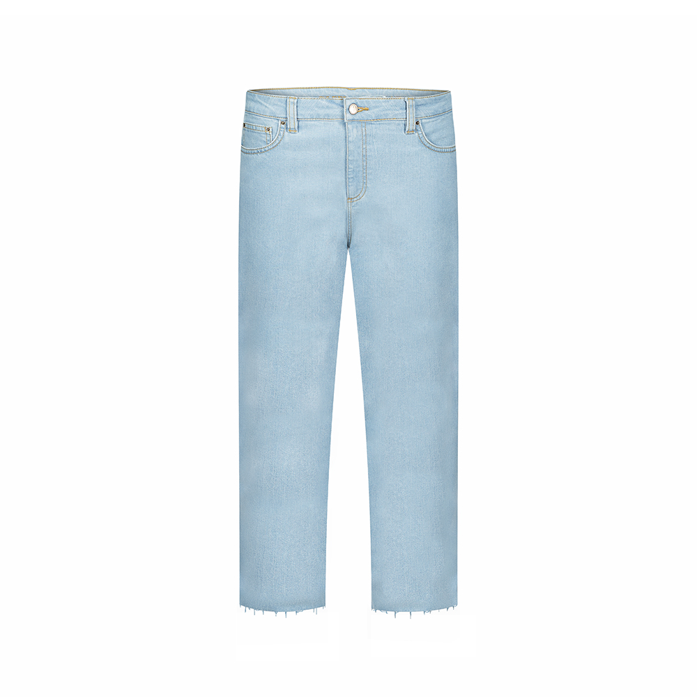 cruesoes jeans lyocell, hellblau, damen - bleed