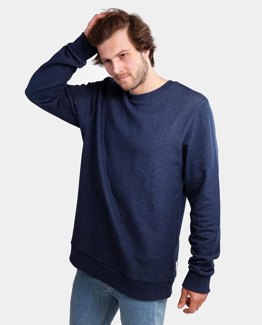 classic sweater, dunkelblau, herren - degree