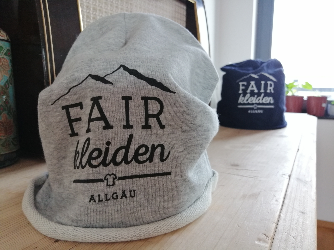 fairfashion promo beanie, grau - agff