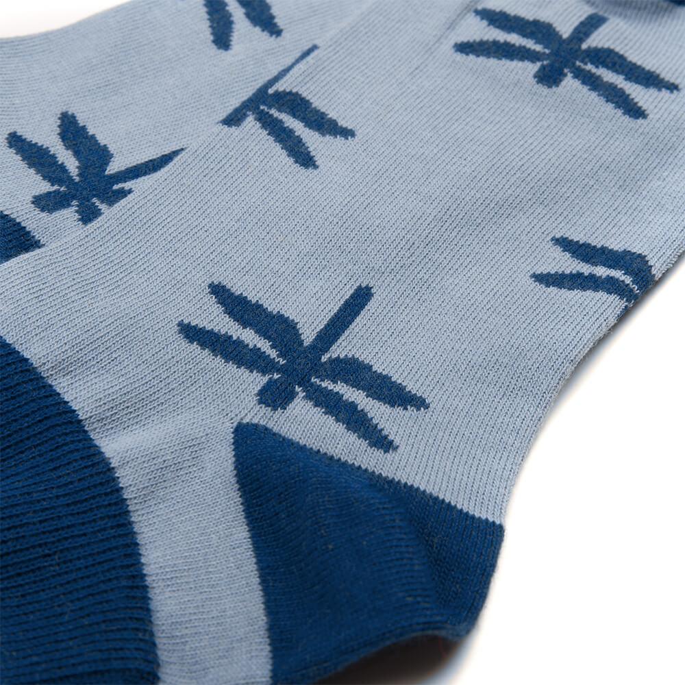 lakefly sneaker socken blau - bleed