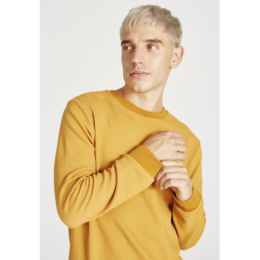 canton sweater, pecan (waffle), herren - givn
