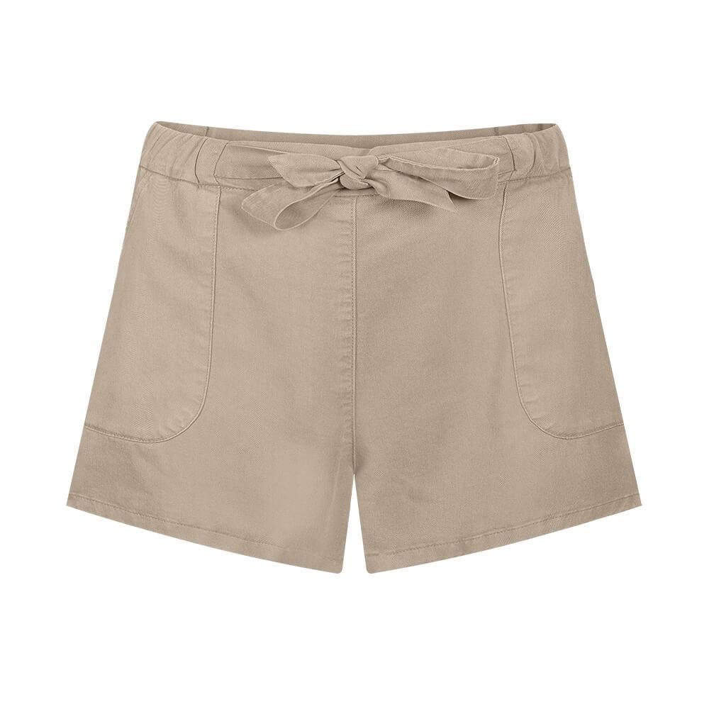 easyaspie lyocell shorts, sand, damen - bleed