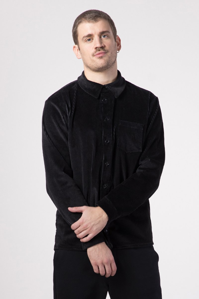 unisex hemd, palash, schwarz - eyd