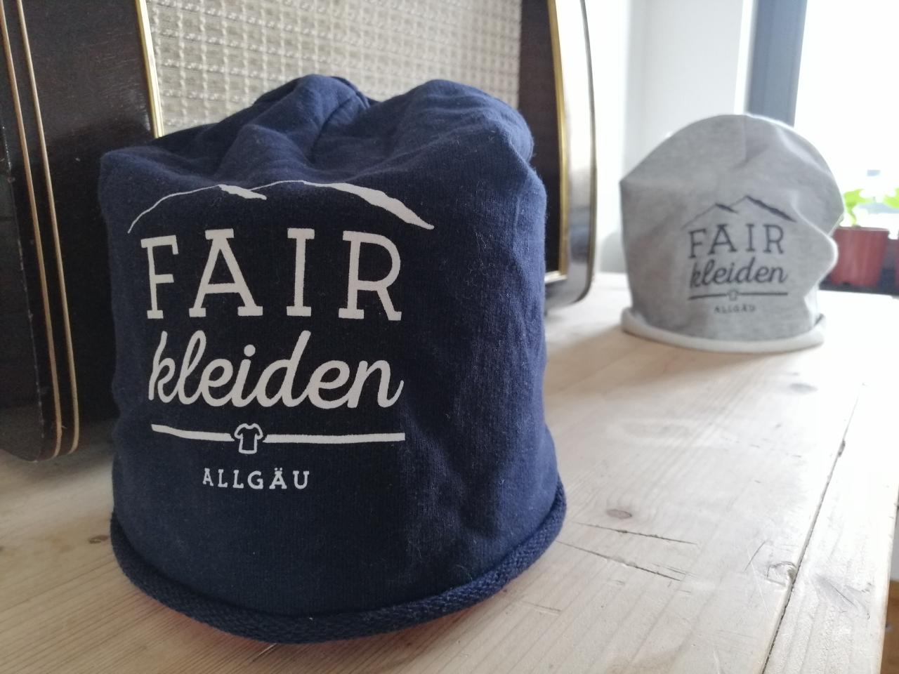 fairfashion promo beanie, navy - agff